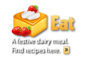 EAT: A festive meal with milk products