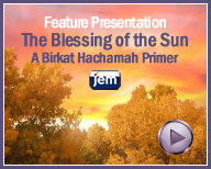 The Blessing of the Sun: A Birkat Hachamah Primer