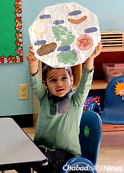 A Passover project: making the seder plate