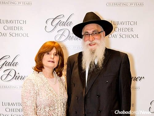 Rabbi Shlomo and Chavie Bendet grew the educational institution from its beginnings back in 1977.