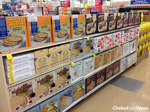 Shmurah matzah can now be found on supermarket shelves throughout North America.