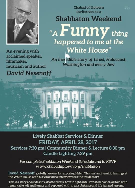 David Nesenoff Story of Holocaust, Israel, Washington and Every Jew