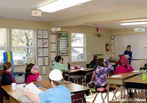 Maimonides enrolls students in kindergarten through seventh grade.