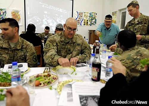 Supplies are being sent out to hold more than 500 Passover seders all over the world, serving about 5,000 people in the U.S. military. (Photo: The Aleph Institute)