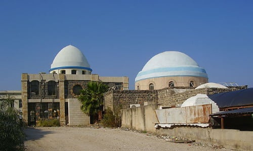 Partial view of the complex that houses the Tomb of Rabbi Meir Baal Haness, which draws prayerful visitors from all over the world (credit: Avishai Teicher).