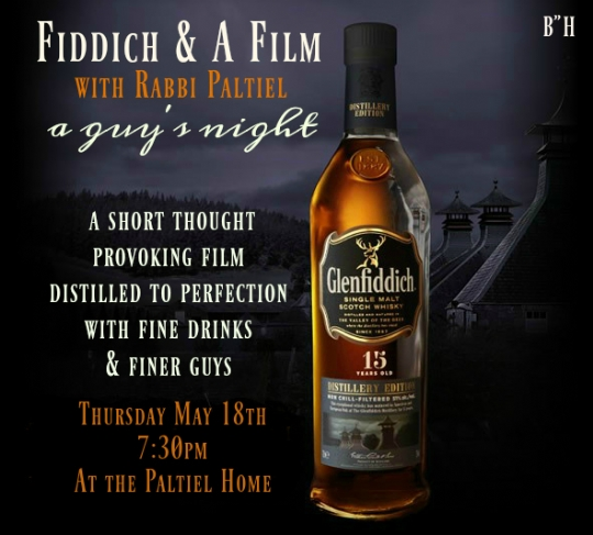 fiddich and a film