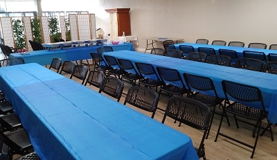 Shavuos tables