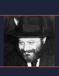An image of the Rebbe circa 1950