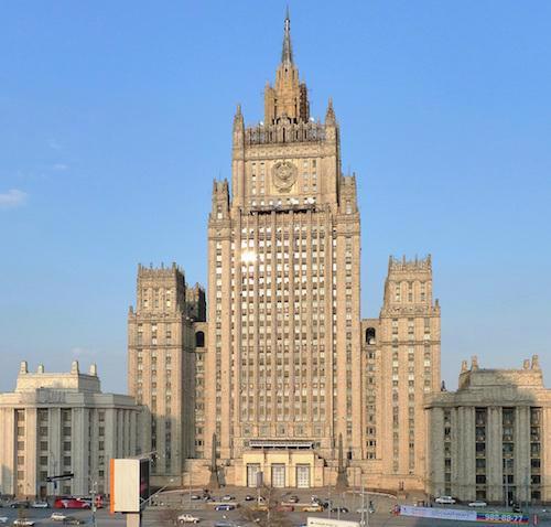 Le ministère des Affaires étrangères de la Fédération de Russie