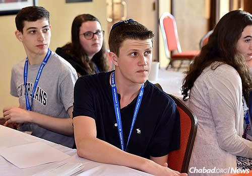 The students attended workshops, lectures and discussions over the course of four days. (Photo: Shmuel Amit)