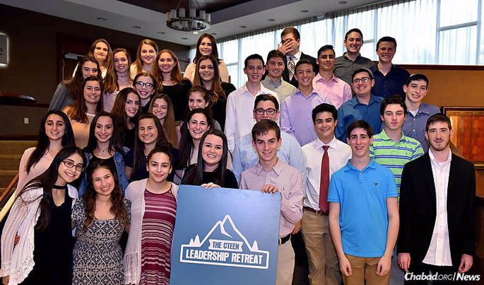 A group of 200 teens and Chabad-Lubavitch emissaries recently participated in a long weekend of leadership training in Pennsylvania's Pocono Mountains. (Photo: Shmuel Amit)