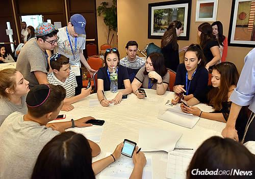 Many found the smaller group settings to be especially productive. (Photo: Shmuel Amit)