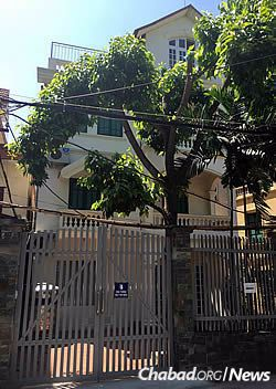 The Chabad House in Hanoi