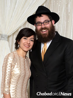 Rabbi Bentzion and Rochel Groner