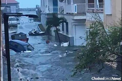 Hurricane Irma flooded St. Barts, devastating that island and nearby St. Martin. All power went out, taking with it Internet access and cell-phone towers. Aside from pictures of the destruction making it to social media, little was known throughout the day of St. Martin's fate, including that of the Chanowitz family.