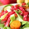 Simanim Salad for Rosh Hashanah
