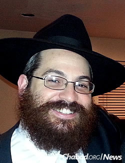 Rabbi Zalmen Drizin, co-director of Chabad of Kings Highway in Brooklyn, N.Y.