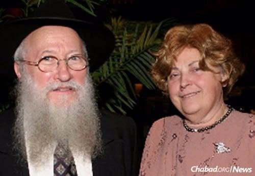 Rabbi Abraham and Rivka Korf