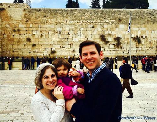 David and Ilana Drescher, who regularly visit Israel, await the direct flights from Miami.
