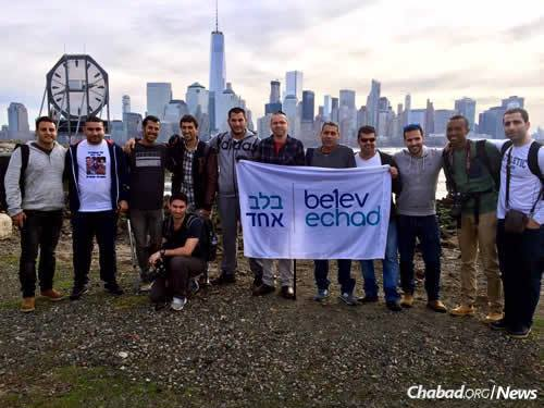 The Belev Echad group, March 2016. Ido Kahlon is standing at far right.