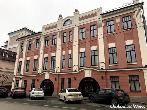 A new branch of Yeshiva Tomchei Tmimim has opened in Kazan, the capital of Tatarstan, Russia's largest Muslim republic. (Photo: Jewish Community in Kazan)