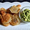 Dreidel-Shaped Chanukah Wontons