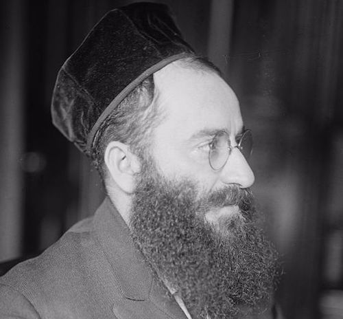 One of the most famous cantors of the 20th century, chazzan Yossele Rosenblatt