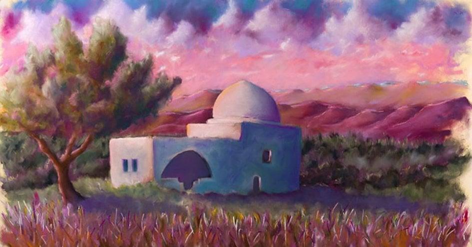 Rachel's Tomb by Moshe Braun