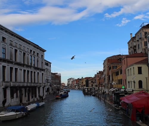 A street in Venice right next to the Jewish Ghetto.