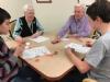 Bar & Bat Mitzvah Club Visits Seniors on Chanukah