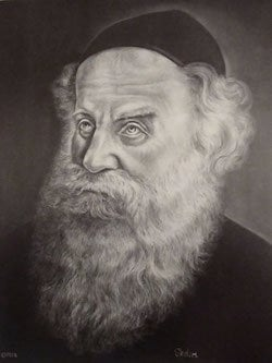Charcoal on Art Paper (Art by Sholom Nemtzov)