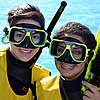 College Women Snorkel and Study in Sunny Key Largo