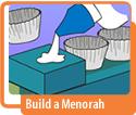 Build a Menorah Hanukkah Activity