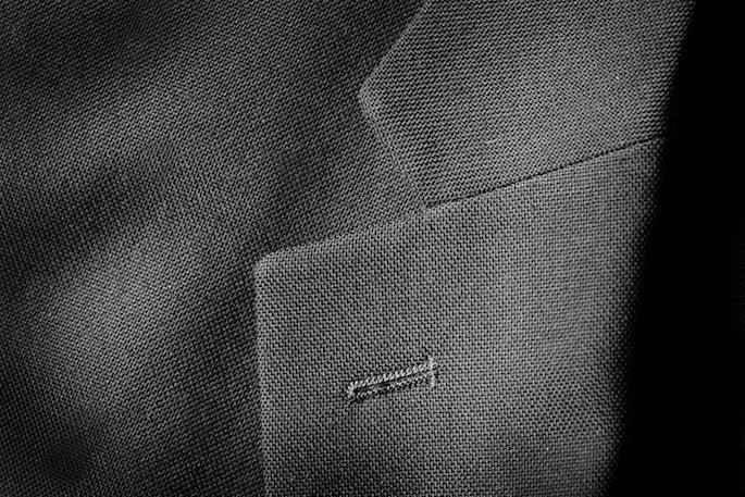 A common place for shatnez to be found is under the collar of high-end suits