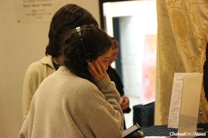 Attendees also had the chance to listen to recordings by Fogelman and read the accompanying lyrics.