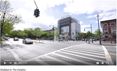 Shabbat in the Heights - VIDEO