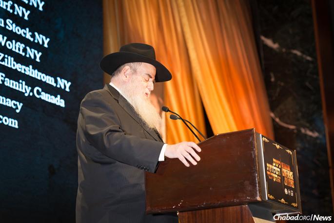 Rabbi Moshe Kotlarsky (File Photo: Chavi Konikov)