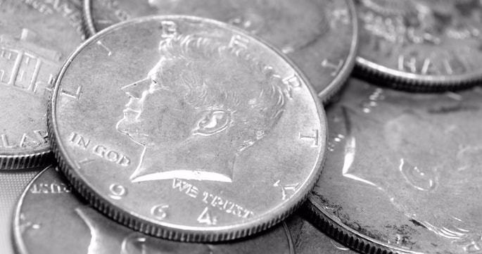 In the U.S., the custom of giving three half-shekels (machatzit hashekel) is customarily performed with silver half-dollars.
