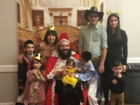 Purim in the Palace