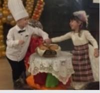 Воспитанники еврейского детского сада Хабад 'Ор Авнер' Одесса отметили большое Ханукальное шоу