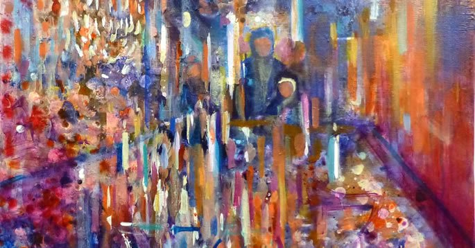 (Shabbat Candles - by Yoram Raanan)