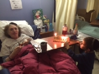 Videos of Chanukah party with seniors '16