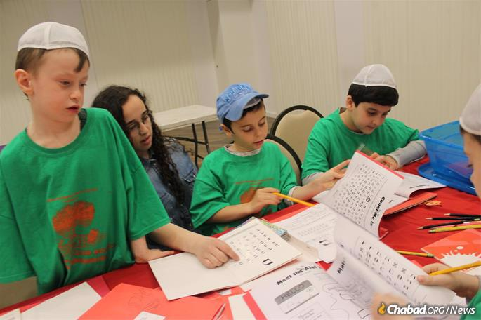 Preparing for the holiday at the Chabad Neshama Center in the Brighton Beach section of Brooklyn, N.Y.