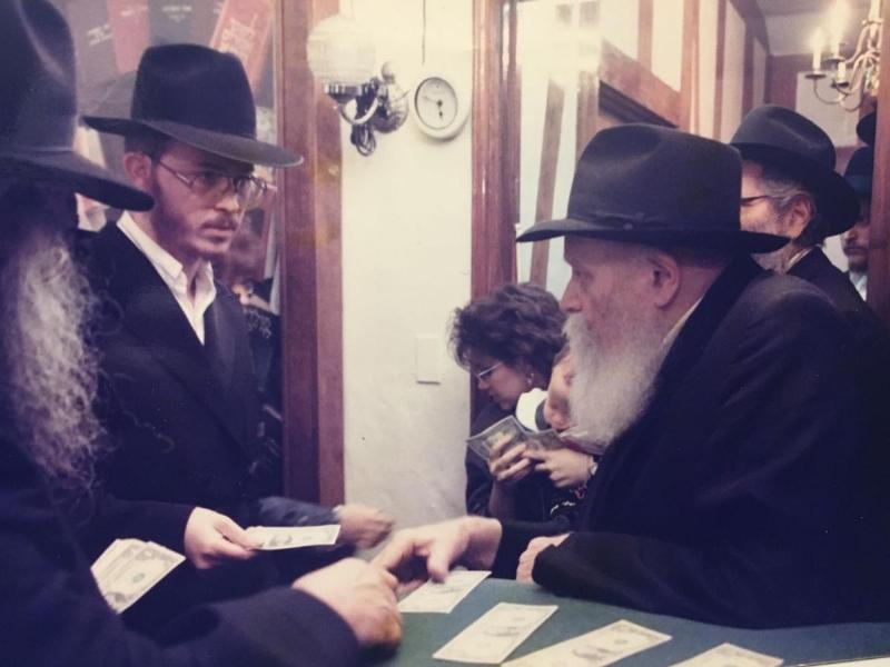 Rabbi Greenberg at the REBBE.jpg