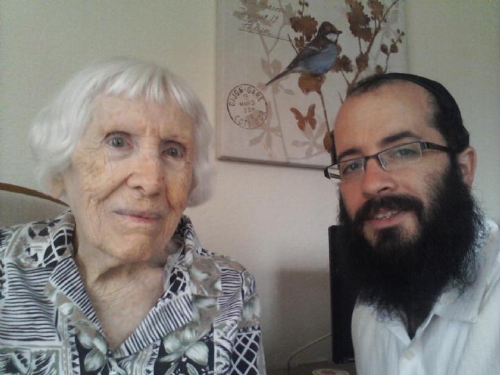 Rabbi and Harriet forster.jpg