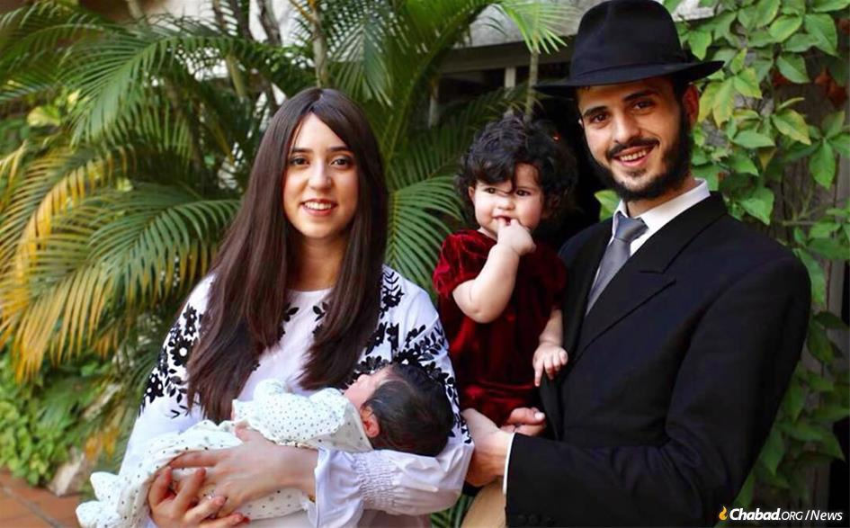 Debbie and Rabbi Yerah Bensaid are moving to Ivory Coast to open Chabad-Lubavitch's newest outpost in Africa. She grew up in the Congo.