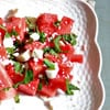 Ultimate Summer Salad: Watermelon, Feta & Mint