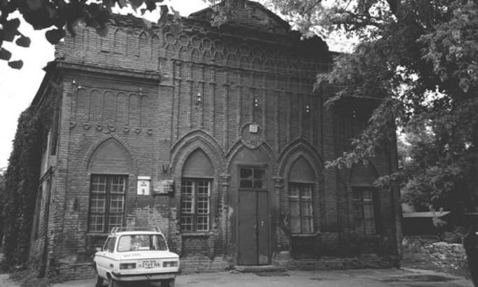 Rabbi Levi Yitzchak's synagogue in Yekatrinoslav