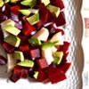 Beet Salad with Avocado & Asian Pear