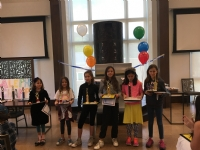 End of Year Hebrew School Graduation 2017